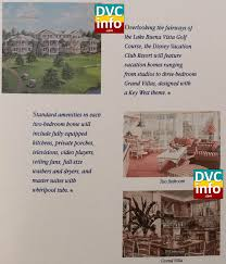 disney old key west turns years dvcinfo standard dvc room amenities shown brochure click for larger image