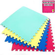 tappeti puzzle tappeto pavimento maxi puzzle 120x120 cm giochi bambini e