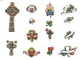irish tattoo tattoo design