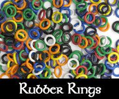 jewelry rubber rings images Rubber jump rings chainmail jump rings jumprings jpg
