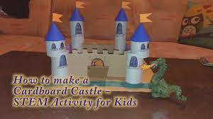 let u0027s make toilet roll craft project cardboard castle stem kids