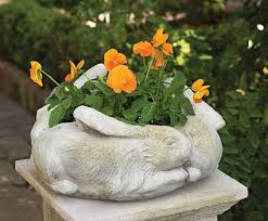 Outdoor And Garden Decor 206 Best Bunny Statues Images On Pinterest Sculpture Garden Art