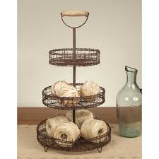 tier stand three tier stand with handle sweetcountrystyle