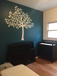 Master Bedroom Ideas With Wallpaper Accent Wall Beginning Stages Of Our Nursery Color Benjamin Moore Jade Garden