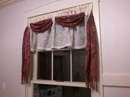 Red Scarf Valance Window Scarf Valance Various Window Scarf Ideas U2013 Home Decor