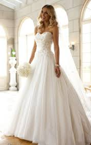 white wedding dress 5720 white wedding dresses by stella york unique wedding dresses