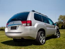 mitsubishi suv blue mitsubishi endeavor review and photos