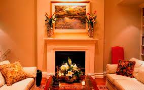 interior exquisite living room decoration using solid oak wood