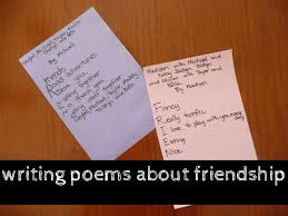 writing a friendship poem friendship poems scribe and badges