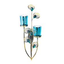 peacock plume wall sconce wholesale at eastwind wholesale gift