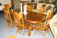 Oak Table And Chairs Kitchen Tables And Chairs At Carolina Furniture Factory Outlet In