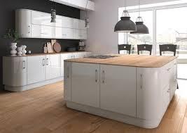 light grey acrylic kitchen cabinets zurfiz light grey high gloss acrylic kitchen doors