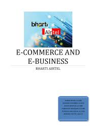 implementation of e commerce in airtel