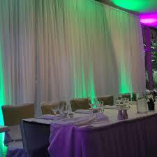 wedding backdrop hire melbourne white chiffon curtain drape 8 person bridal table backdrop melbourne h