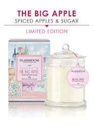 glasshouse fragrances p a limited edition apple pie candle 350g