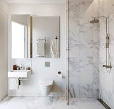 Modern Marble Bathroom Likeable Best 25 Marble Bathrooms Ideas On Pinterest Carrara Of