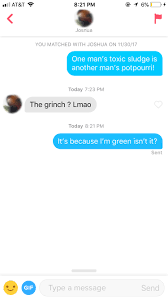 i used how the grinch stole quotes on my dating app