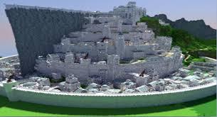 Castle Maps For Minecraft Minas Tirith Map For Minecraft File Minecraft Com