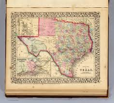 Map Of Florida And Alabama by Texas David Rumsey Historical Map Collection