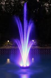 water fountain with lights 720 led color changing floating water fountain kit