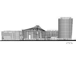 Sony Centre Floor Plan Sony Center Elevation Drawing Greenville Multipurpose Center