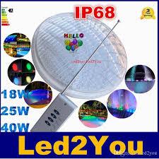 12v Led Pool Light 18w 25w 40w 12v Led Pool Lights Decoration Waterproof Ip68 Rgb Led