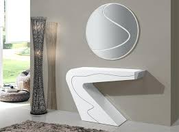 Glass Hallway Table Goccia By Ultra Modern Glass Console Tables Contemporary