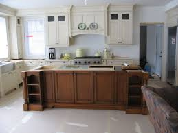 kitchen designs white backsplash with cream cabinets small