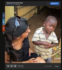 Third World Child Meme - sceptical third world child what a viral picture tells us about