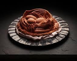 dragon cake pan thinkgeek