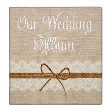 Personalized Wedding Album Wedding Photo Album Gifts On Zazzle