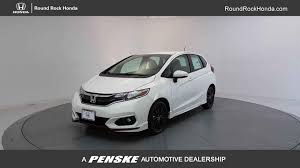 2018 new honda fit sport manual at round rock honda serving austin