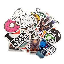 amazon com stillcool pack of 200 stickers skateboard snowboard