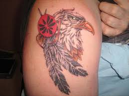 75 awesome eagle shoulder tattoos