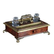 regency desk set u2013 jayne thompson antiques inc