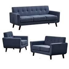 Shirley Sofa Set Aqua   KD Home And Design Studio - Houston modern furniture
