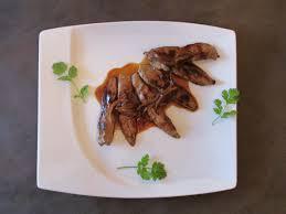 cuisiner aiguillette de canard aiguillettes de canard marinées au miel au vin et coriandre