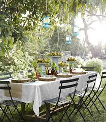 12 simple tips for summer table setting and outdoor home
