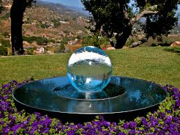 Glass Globes For Garden Glass Ball Fountains Glass Sphere Fountains Allisonarmour Com