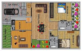 ground floor plan 2 bhk floor plan for 30 x 50 plot 1500 square