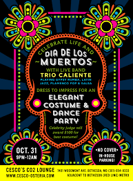 cesco osteria u2013 halloween party at co2 lounge