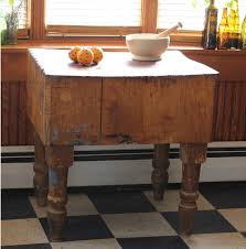 butcher block the farmhouse project butcher block table buried in a barn at our favorite antique shop domesticities in youngsville ny we re planning to renovate the kitchen soon and