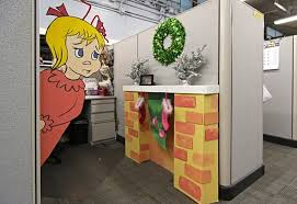 Decorating Desk For Christmas Office Decorating Contest Ideas Pictures Yvotube Com