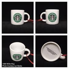 starbucks ornaments mini mugs starbucks ornament
