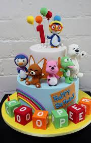 pororo the little penguin cake kids birthday cake idea