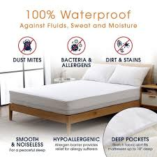 Bed Bug Crib Mattress Cover Turetrip 150x200cm Waterproof Mattress Cover Fitted Seet Style