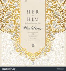 House Invitation Card Wedding Card Invitation Card Card Abstract Stock Vector 435585988