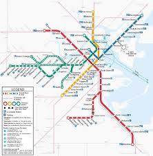 map of boston subway mbta subway spider maps