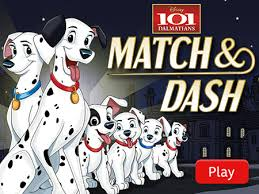 101 dalmatians match dash disney lol games