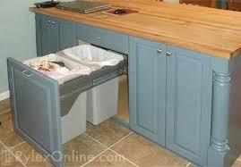 Kitchen Cabinet Garbage Drawer Hardware Convert Kitchen Cabinet To - Kitchen cabinet garbage drawer